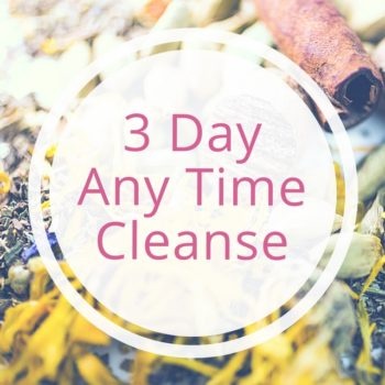 3 day any time ayurvedic cleanse