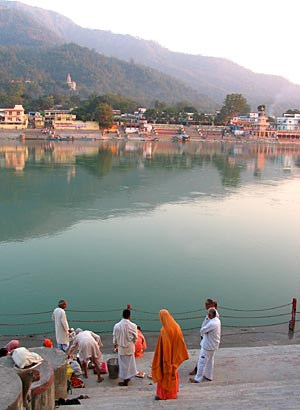 Swargashram on the Ganges