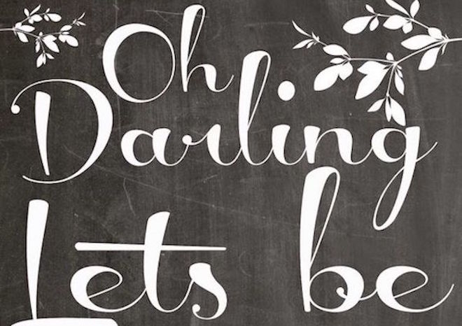 Oh Darling…