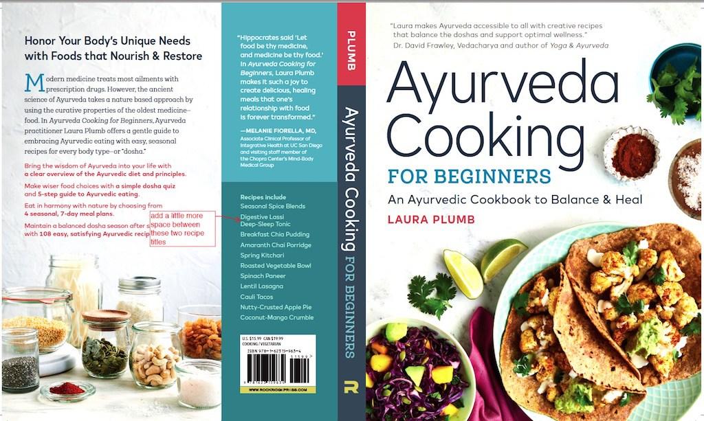 Ayurveda cooking for beginners laura plumb bestselling author speaker forumfinder Images